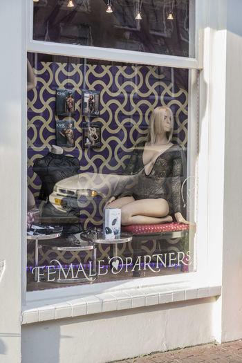 Amsterdam Erotiek Erotık Front View Hashion Lingerie Netherlands Sensuality_empire Shop Window