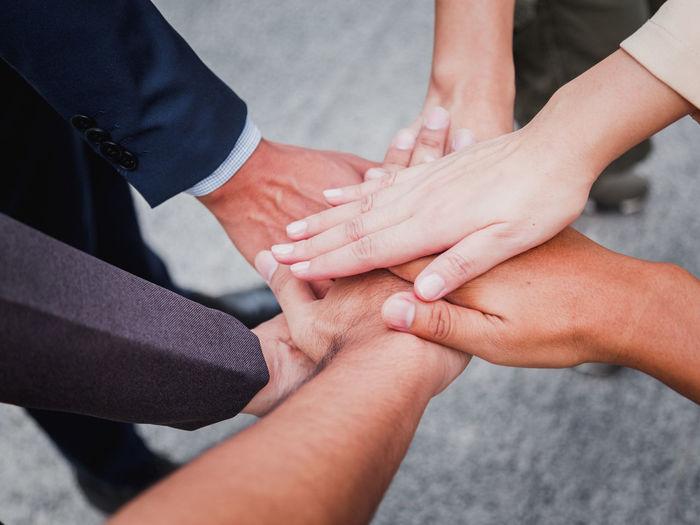 Business handshake for success business, business success concept.
