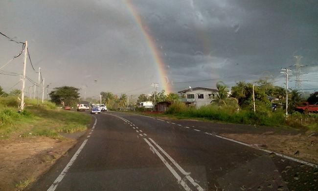 Doubble line rainbow..!