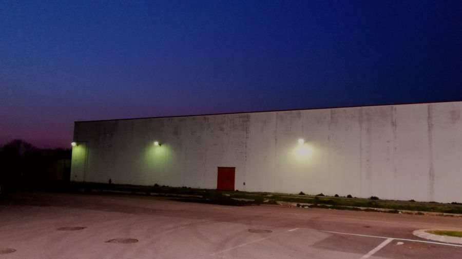 Nobody's land Cinematic Cinematic Photography Art Aestetichs Minimal Minimalism Suburban Nightshot Somewhere Night Light And Shadow Building Neon Neon Colored Fluorescent Fluorescent Light Office Building Industrial Building  Urban Scene