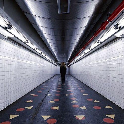 Andrea Notes From The Underground AEBEX Newyorkcity Brooklyn Subway Station New York EyeEm Best Shots Subwaylife
