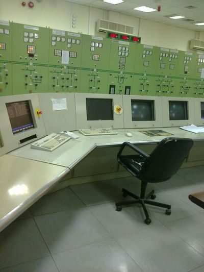Electric Control Station ControlRoom Powerstation Texhnology Elwctric Generation Turbine Indoors  Healthcare And Medicine No People