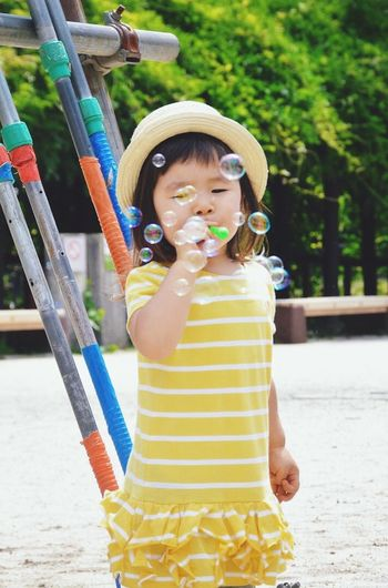 Bubbles. EEA3 - Tokyo Capturing Freedom Faces Of Summer Summer Views Portrait The Portraitist - 2015 EyeEm Awards Kids People Playing EEA3 Colour Of Life Color Palette