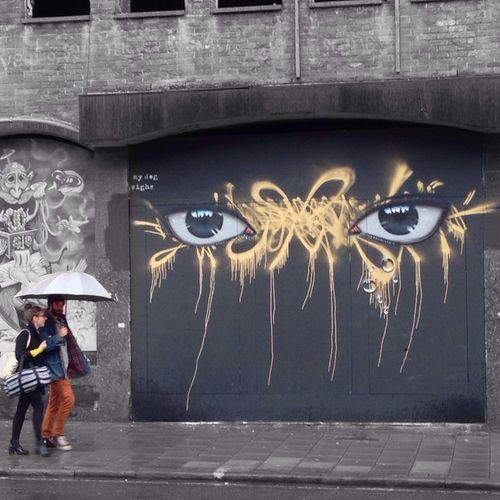 Mydogsighs Streetart Colorsplash Graffiti
