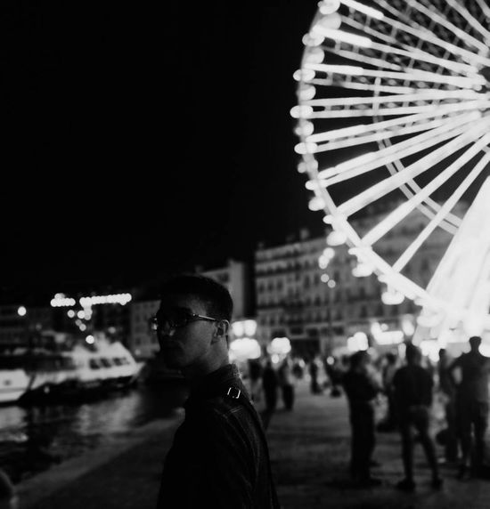 Night People Ferris Wheel Crowd City Sky France🇫🇷 Marseille, France Travel Destinations Scenics Summer Harbor