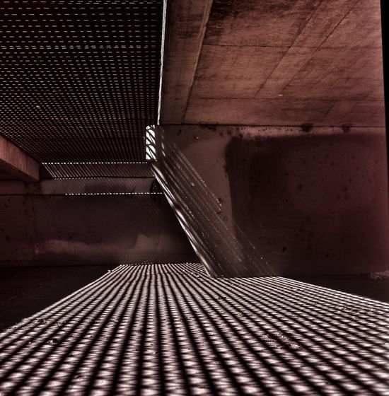 Underpass Mamiya C330 Analogue Photography Abstract Photography Fujifilm
