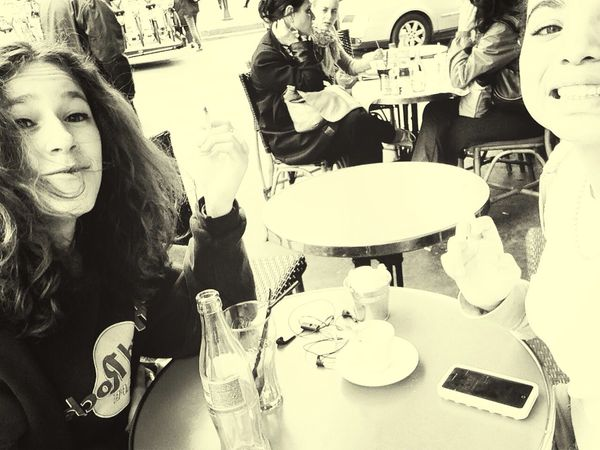 Perfect day EyeEm Best Shots Cafe Paris Girls