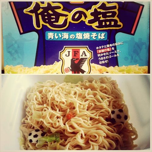 World Cup 2014 Instant Yakisoba Japanese Food