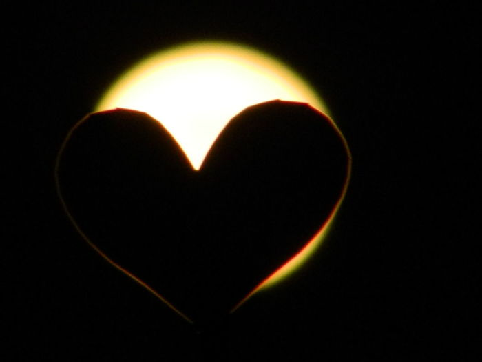 Supermoon2016 Heart Silhouette Nightphotography Moonlight Love Will Conquer All Heart Shape Love Romance Creativity Studio Shot Heat - Temperature Motion Illuminated No People Space Night Black Background Close-up Beauty In Nature Astronomy Solar Eclipse