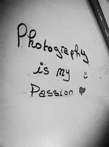 Photography Passion All I Need