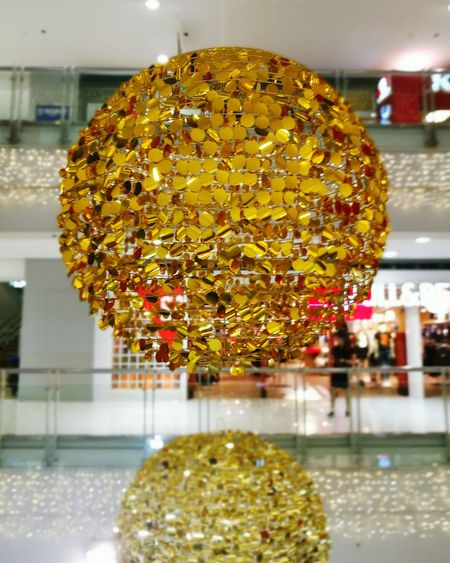 Golden Ball? Chinese Lantern Kung Hei Fat Choi Reflection Celebration