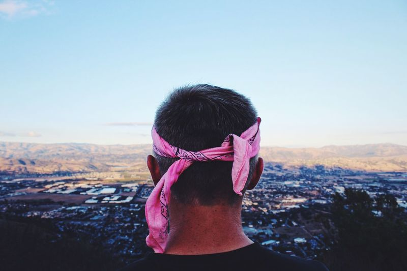 bandanas flooded with sweat and dirt Bandana Views El Toro Mountain Mountain View Hiking Adventures Hiker Top City View  City Scape Morgan Hill California Bay Area Town EyeEm Best Shots EyeEm Nature Lover Eye4photography  EyeEm Gallery EyeEm Best Edits Backgrounds Focus On Foreground Head And Shoulders