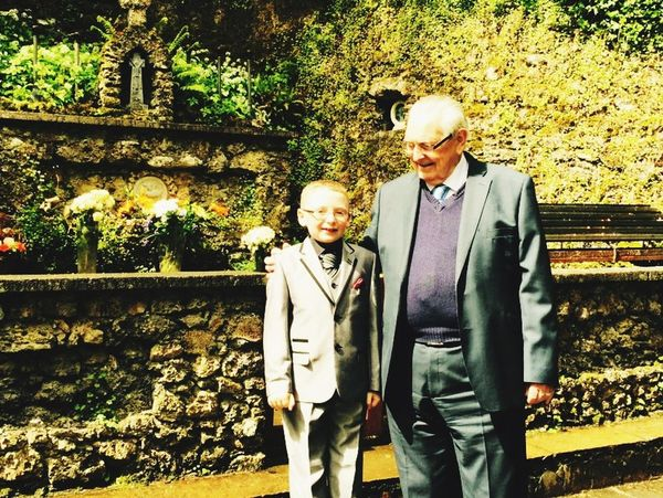 Photos That Will Restore Your Faith In Humanity Great Granddad Proud Day Great Grandson First Communion