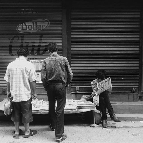 Morning Bhotahiti People Lifestyle Blackandwhitephotography Streetphotography Mobilephotography Nepal