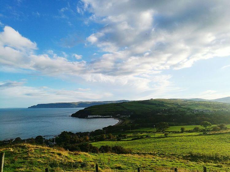 Glens Of Antrim Antrim Ireland Cushendun Torr Road Coastline Coast Beauty In Nature First Eyeem Photo