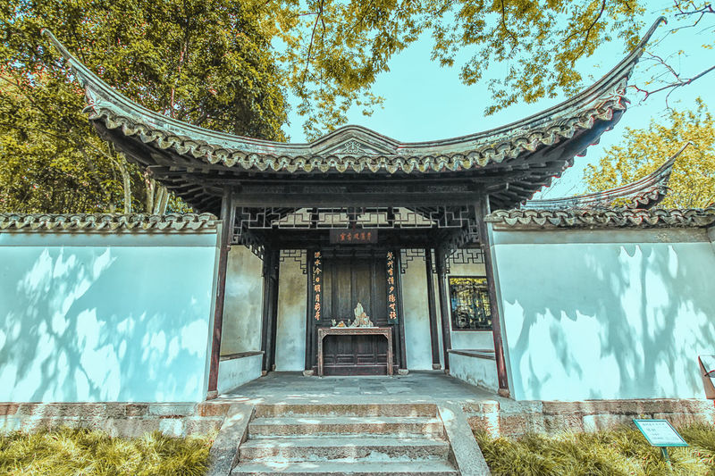 Architecture Building Exterior Built Structure Chinese Garden Coloroflife No People Outdoors Sun