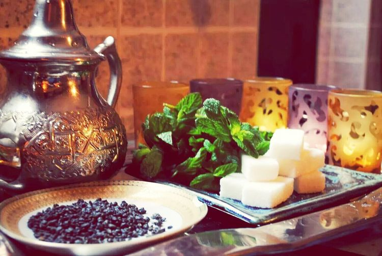 Tea Moroccan Thé à La Menthe