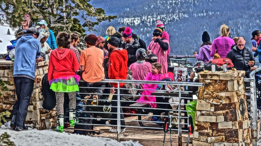 11,000 Feet Above Sea Level Day Large Group Of People Men Millennial Pink Outdoors Pink Vail Real People Vail Colorado Vail,co Women