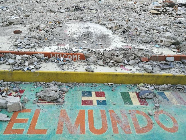 El mundo World Monde Ruins No People Outdoors Day Photooftheday Picoftheday Dominican Republic City Republica Dominicana Republicadominicana Sidewalk