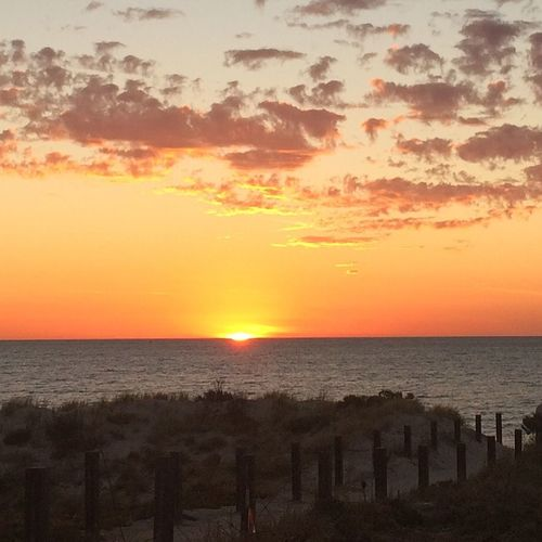 Adelaide Sunset tonight Henley Beach Check This Out Hello World Enjoying Life The Week Of Eyeem EyeEm Sun Beach Ocean South Australia Nofilter IPhone Iphoneonly