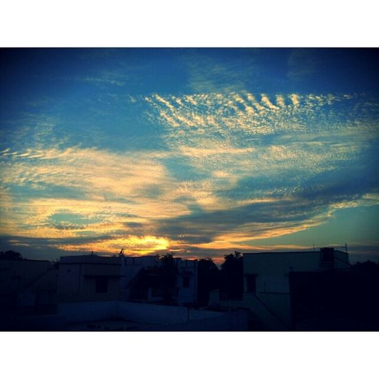 Click Click EveingOut Sky And Clouds Blue Sky Sunset Lovely Weather