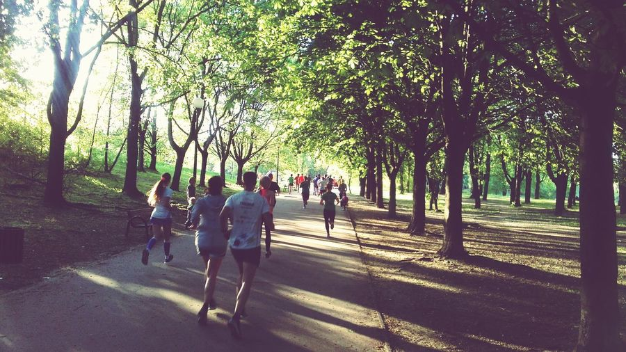 People Jogging Sport Jogging Happy People People Of EyeEm Fresh Air Nice Day Wonderful Weather Beatiful Nature The Human Condition