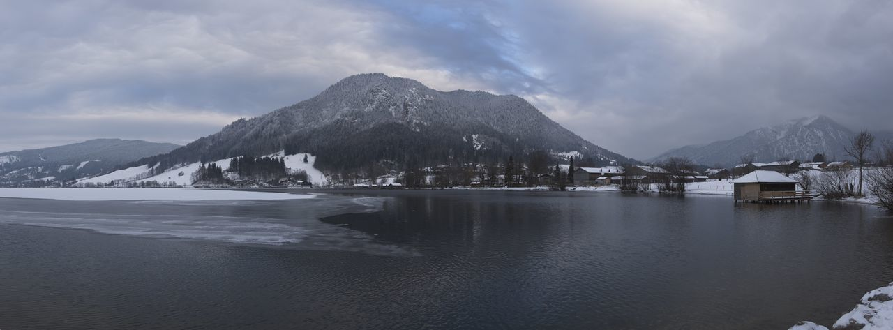 Cloudy Panorama Schliersee Schliersee, Bayern Cloud - Sky Clouds And Sky Lake Lake View Lakeside Mountain Outdoor Outdoors