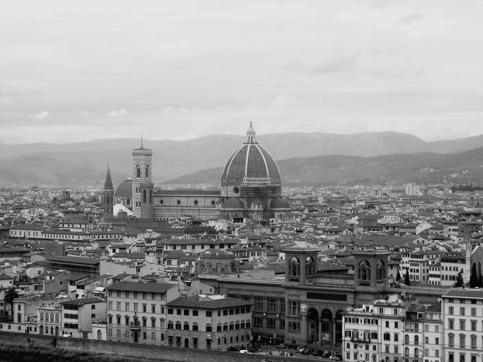 Europe Italy❤️ Florence View From Above Dome Roof Tops Old City Building Romantic Architecture Old Buildings Rooftops Mediterranean  Medieval Duomo Florence Duomo Di Firenze Cathedral