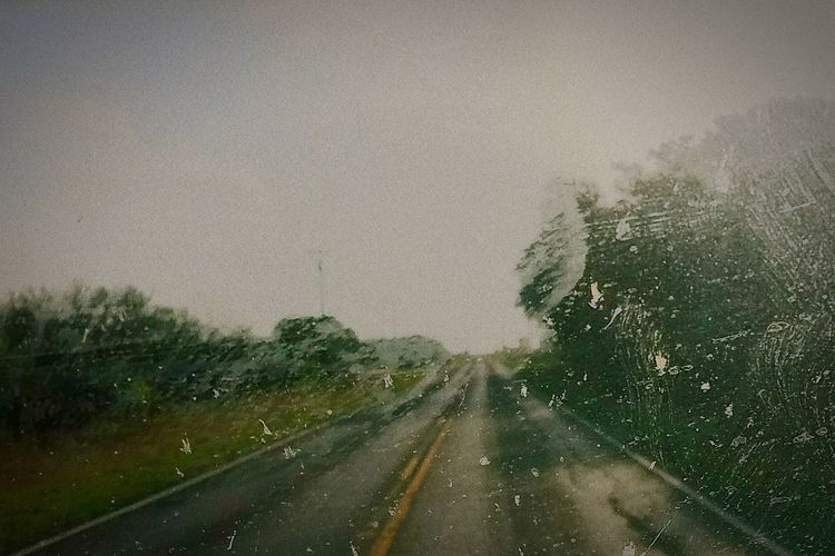 Road Nice Day Road Windshield Car Backgrounds Weather Car Point Of View