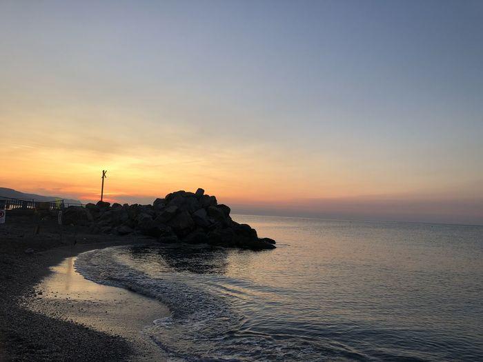 Sunrise Sky Sea