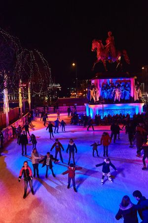 Snow Sports Ice Rink Large Group Of People Ice Skate Winter Sport Winter Real People Happy People Happy Holidays! Leisure Activity Christmas Cold Temperature Night Outdoors ClayHaynerPhoto Cologne Cathedral Germany Travelphotography Photo Of The Day Lifestyles Travel Photography Clay Hayner Photo Ice-skating Travel Travel Destinations