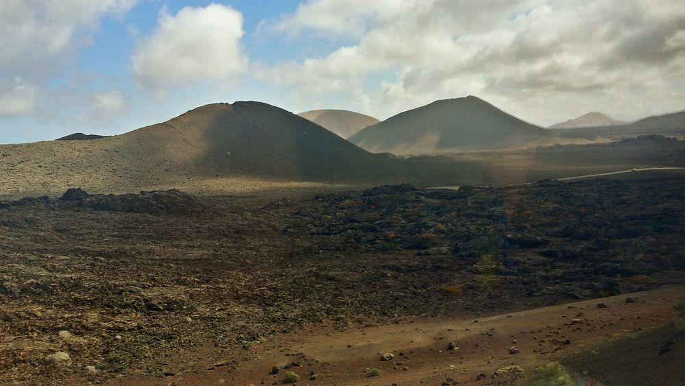 Vacaciones🌴 Paisaje Lanzarote Lanzarote Island Canary Islands Islas Canarias Timanfaya