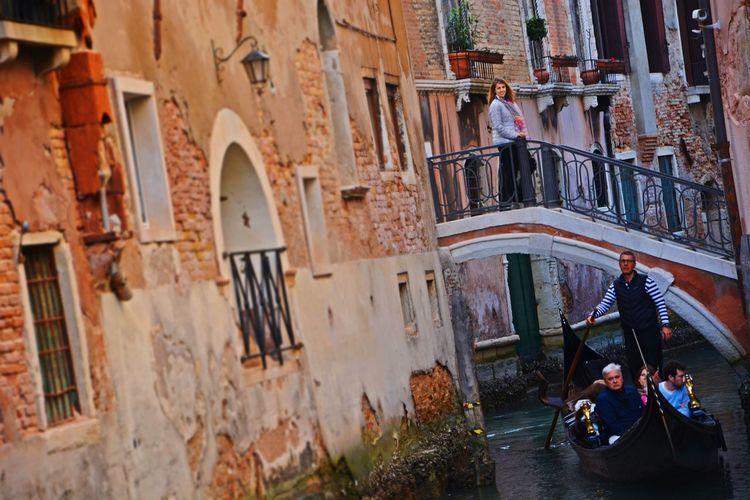 Nikon OpenEdit Italy Italia Travel Destinations Travel Photography Famous Place Gondola - Traditional Boat Water Nautical Vessel History Women Architecture Gondolier Venice - Italy Veneto Old Town Gondola