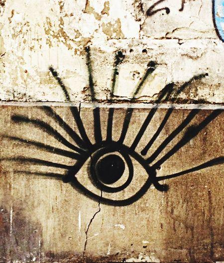 Eye Street Art Street Art/Graffiti