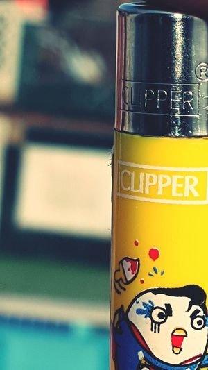 Clipper Collection Clipper Yellow Close-up Smoking Lighters First Eyeem Photo