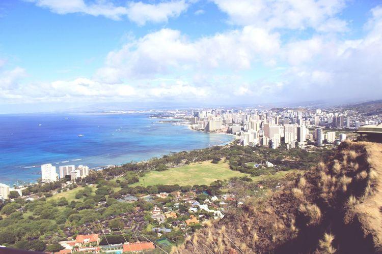 Hawaii Diamondhead Beautiful Nature Summer Trip Honolulu  Honolulu, Hawaii