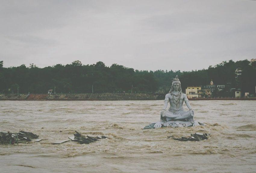 Shiva Rishikesh Ganga River River
