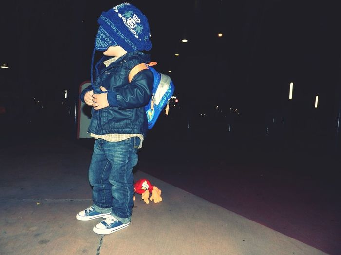 My son (: