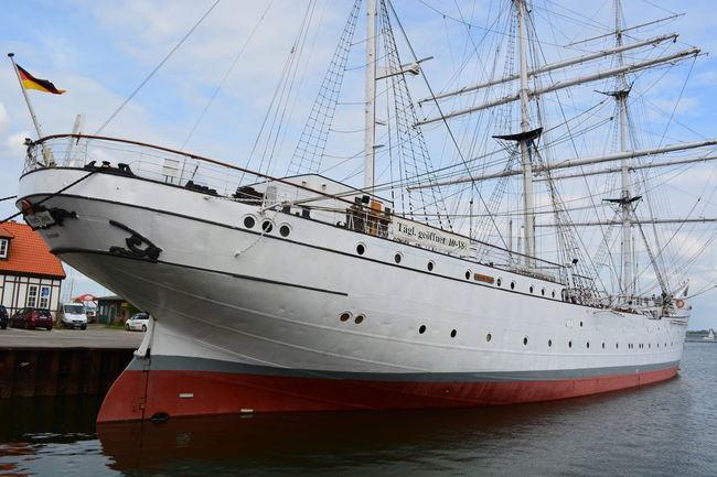 Germany Gorch Fock Harbor Nautical Vessel No People Sea Ship Sky Stralsund