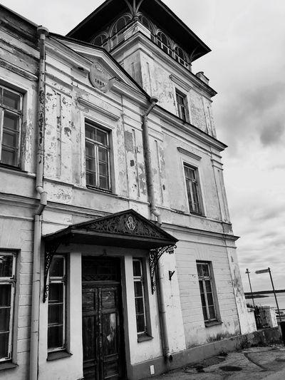 Old Buildings Architecture Estonia Baltics2k16 Blackandwhite