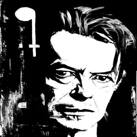 David Bowie 1947~2016. Artist: Scott Wheeler. League Of Legends Bowie Tribute Stardust
