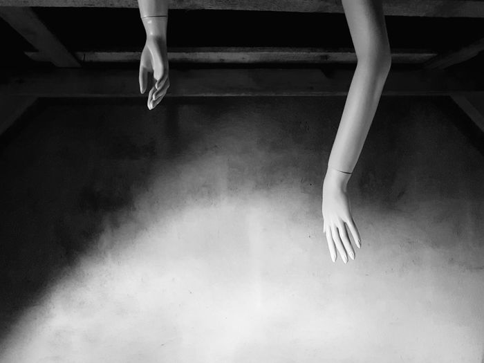 Doll Arms Mannequin Arm Mannequin Hanging Bizarre Black And White Low Section The Still Life Photographer - 2018 EyeEm Awards