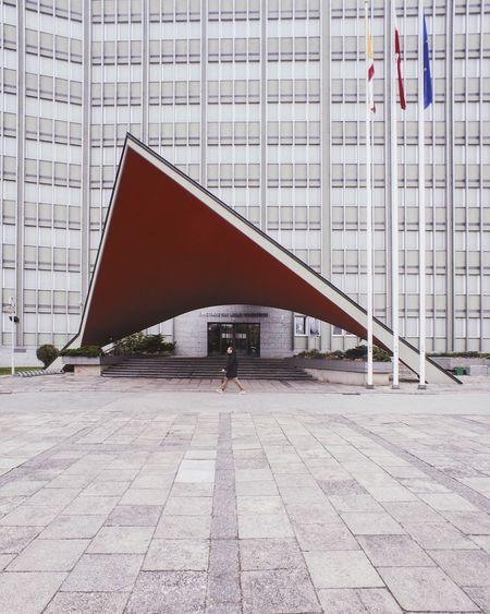 Architecture Canon Kielce Poland EyEmNewHere EyeEm Best Shots VSCO Cityscape Brutalism Tinypeople Architecture Modern Skyscraper