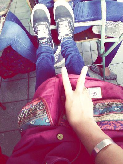 School Vansoffthewall PrettyBackpack❤