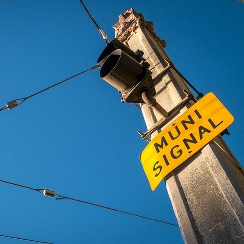 Muni Signal Sanfrancisco SF MUNI Latergram bayarea california