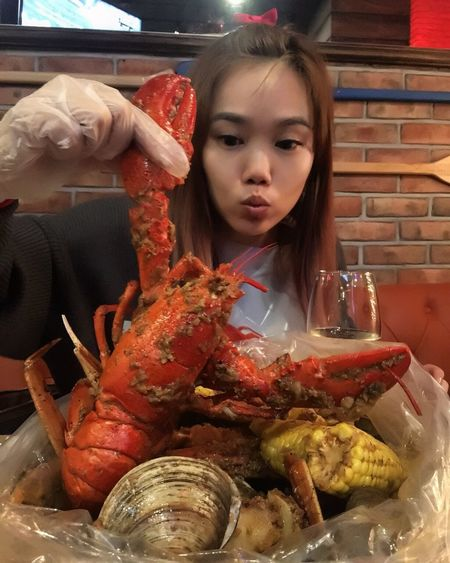 Cajun Lobster! Seafoods Lobsters Cajun Food And Drink Food Real People Indoors  Freshness Seafood Food Stories