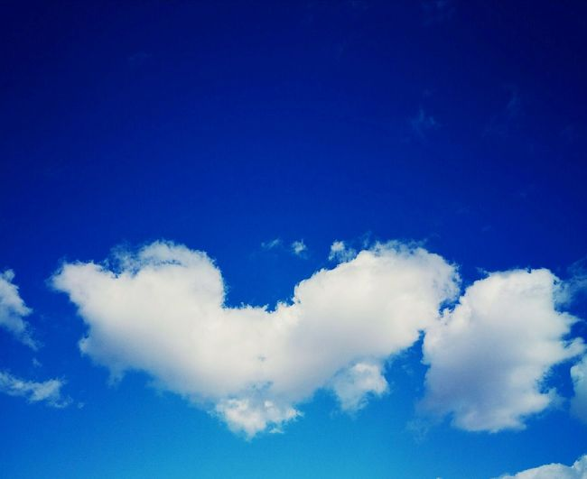 Cloud Blue Sky Backgrounds Outdoors