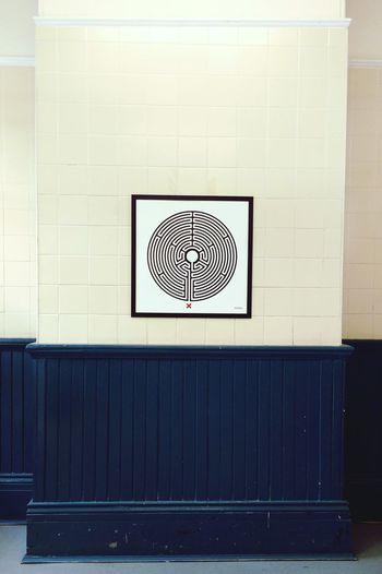 Waiting room London Underground Barkingside Art Waiting Room Wall Pattern