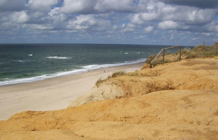 Beach Sand Sea Horizon Over Water Cloud - Sky Nature Vacations Tranquility Water's Edge Wave Landscape Outdoors Beauty In Nature No People Tourism Sylt Strand Sylt, Germany Sylt Strand Nordsee