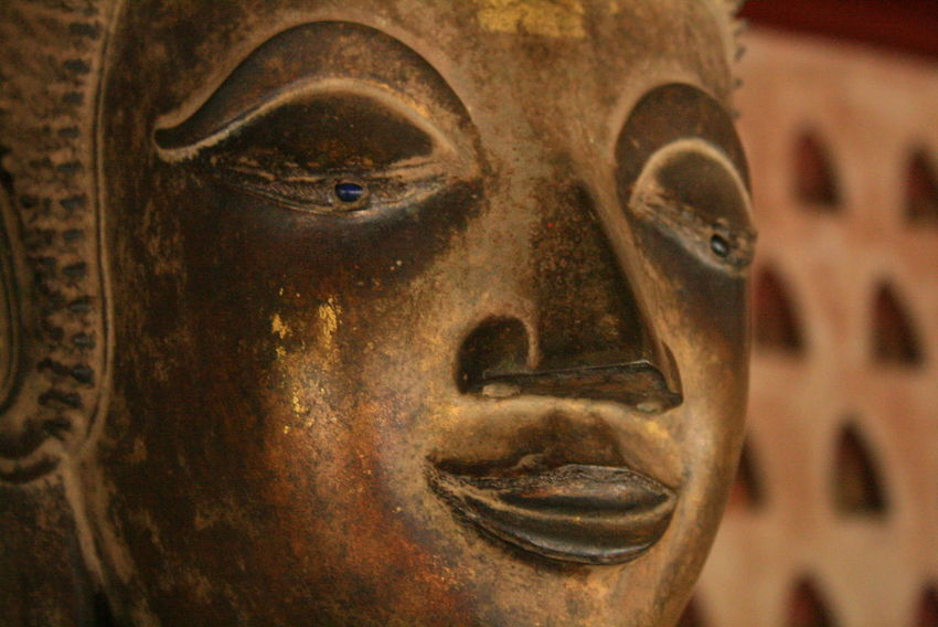 Art Buddha Buddhism Close-up Focus On Foreground Laos Man Made Object Place Of Worship Religion Statue